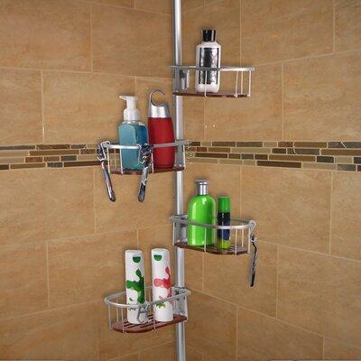 Versalot No-Rust Shower Caddy & Reviews | Wayfair