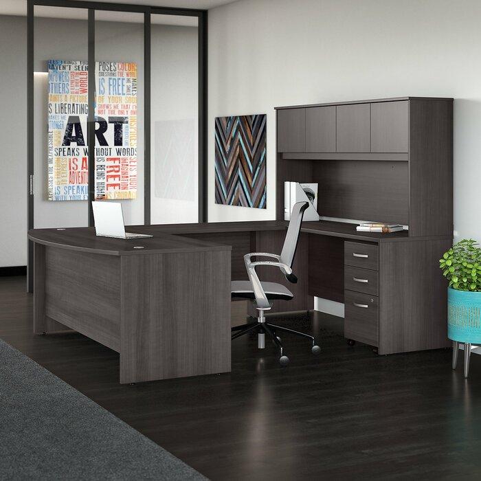 Attractive Studio C 5 Piece U Shaped Desk Office Suite