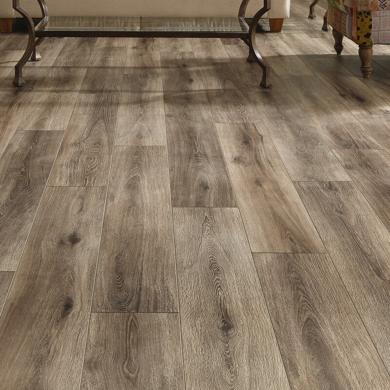 Restoration Wide Plank 8 X 51 12mm Laminate Flooring In Brushed