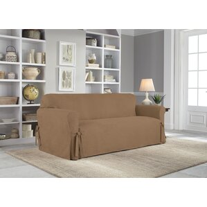 Box Cushion Sofa Slipcover  sc 1 st  Wayfair : dual reclining sofa slipcover - islam-shia.org