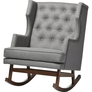 Myrna Rocking Chair by Harriet Bee