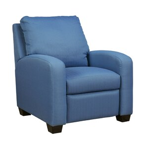 Ayanna Manual ReclinerFind The Best Blue Recliners   Wayfair. Reclining Chair And A Half Leather. Home Design Ideas