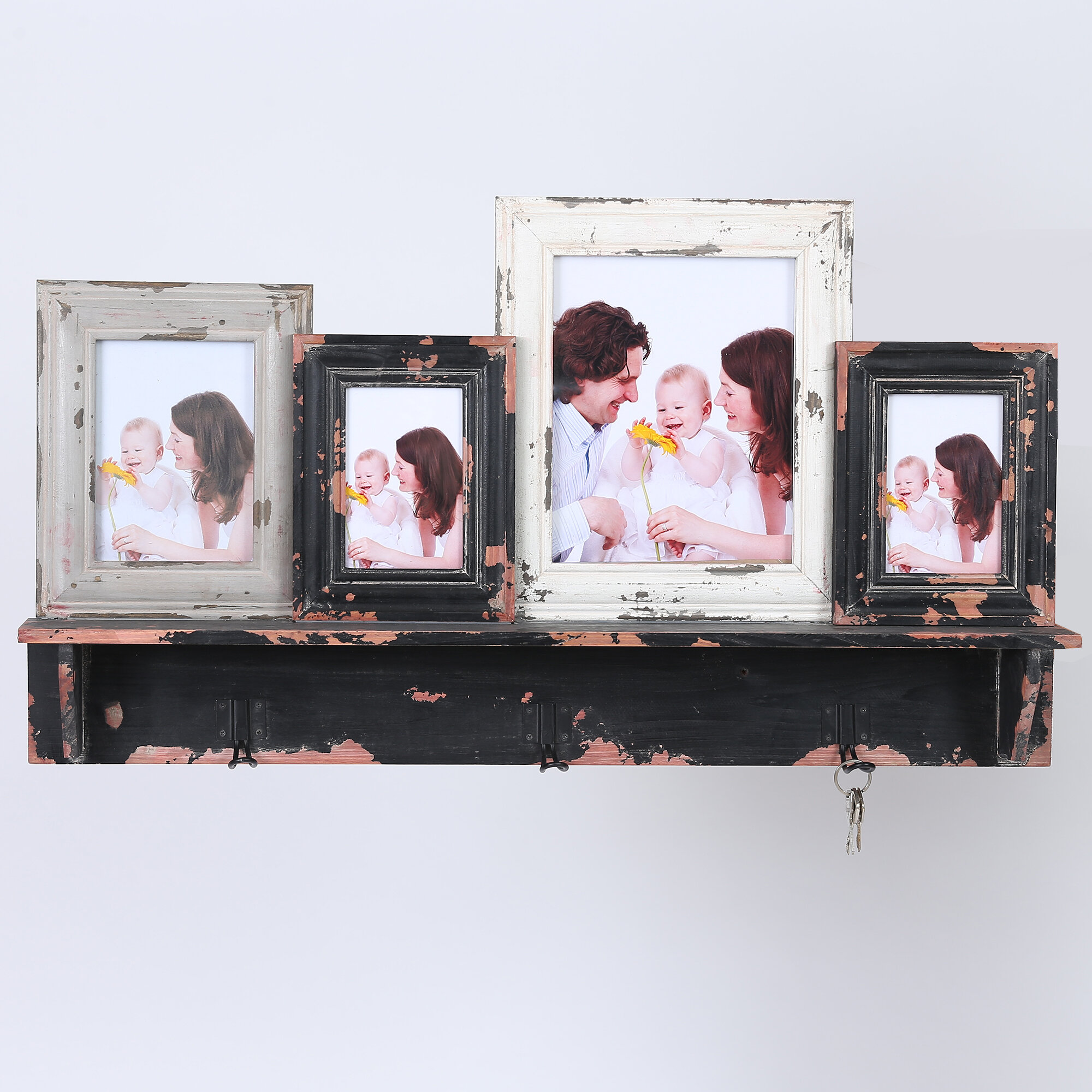 Gracie Oaks Posner 4 Collage Picture Frame | Wayfair
