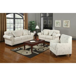 Lark Manor Axelle Configurable Living Room Set