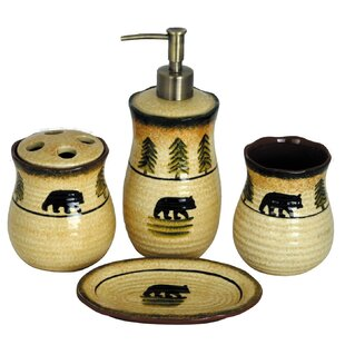 Bathroom Accessory Sets Gold Bathroom Accessories You Ll Love Wayfair