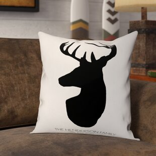 Deer Head Pillow Wayfair