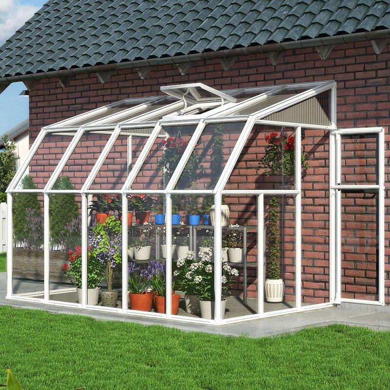Rion Sun Room 2 6 Ft. W X 10 Ft. D Greenhouse & Reviews