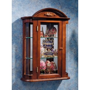 Pascual Wall Mounted Curio Cabinet