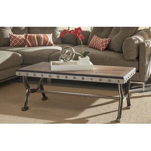 Ligia Coffee Table by 17 Stories