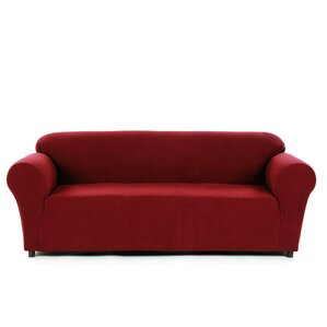 Latitude Run Box Cushion Sofa Slipcover