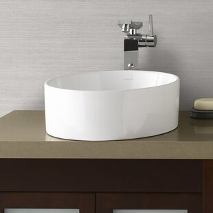 Ceramic Circular Vessel Bathroom Sink