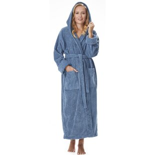 Hovis 100% Cotton Terry Cloth Bathrobe ad8f82394