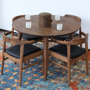 Keown Solid Wood Dining Table