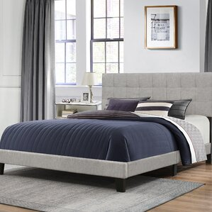 Decker Upholstered Panel Bed by Ebern ..