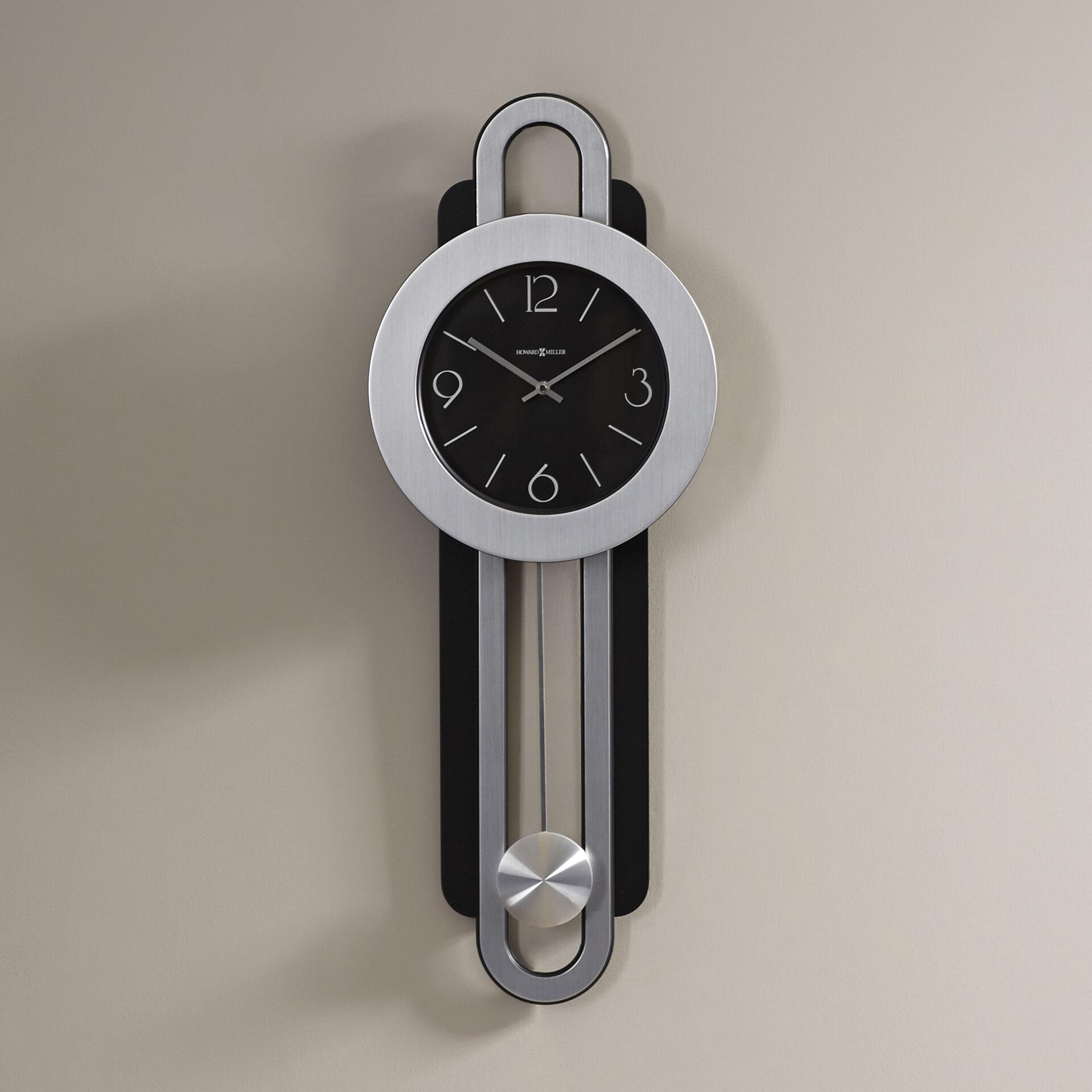 Howard Miller Decorative Quartz Gwyneth Wall Clock Reviews Wayfair