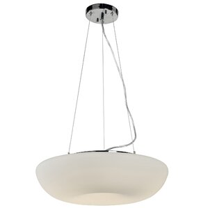 Swirled 1 Light Inverted Pendant