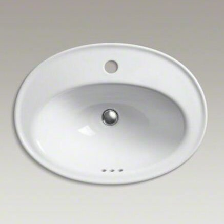Kohler Serif Ceramic Oval Drop In Bathroom Sink With Overflow Reviews