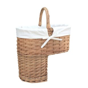 Attirant Stair Basket | Wayfair.co.uk