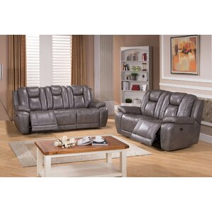 Fae 2 Piece Leather Living Room Set by Red B..