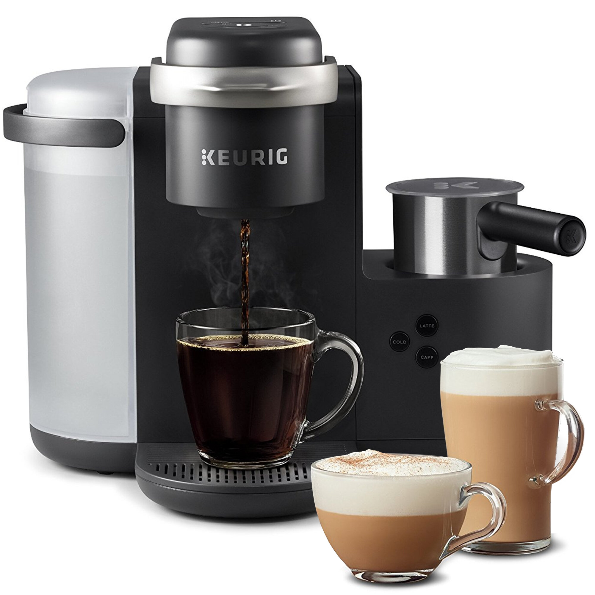 Keurig Single Serve K Cup K Cafe Coffee Maker Reviews Wayfair