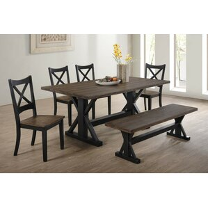 Landrum 6 Piece Dining Set by World Menagerie
