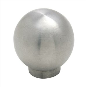 Essential'Zu2122 Stainless Steel Round Knob