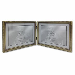 Levingston Bead Hinged Double Picture Frame