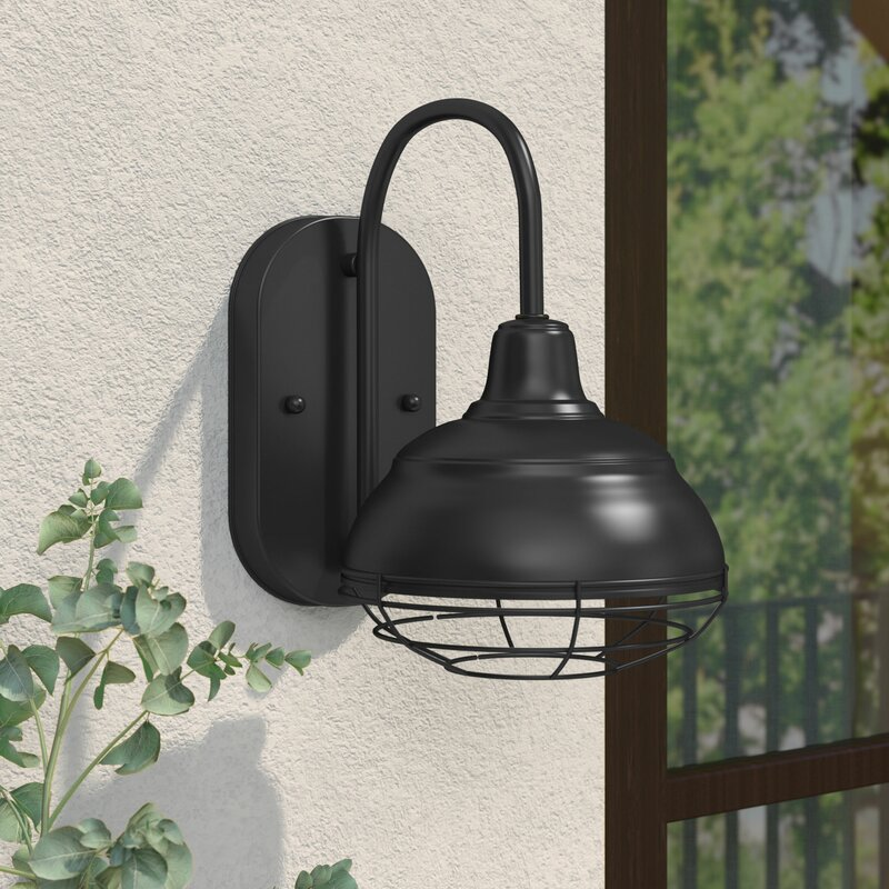 Andover mills fitzhugh modern outdoor barn light reviews wayfair fitzhugh modern outdoor barn light mozeypictures Images