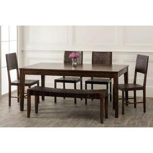 Panasonic 6 Piece Dining Set by Bloomsbury Market