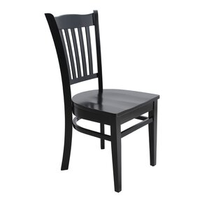 Lavonna Curved Back Solid Wood Dining Chair by Darby Home Co