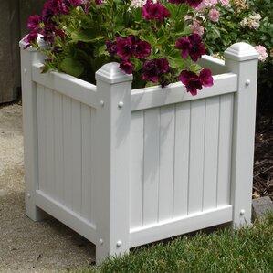 vinyl planter box