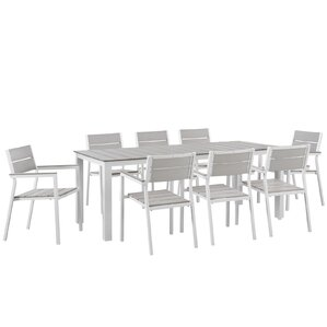 Moreau 9 Piece Patio Dining Set