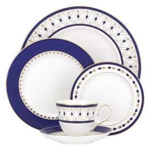 Royal Grandeur Bone China 5 Piece Place Setting Service for 1  sc 1 st  Wayfair & Royal Stafford Dinnerware | Wayfair