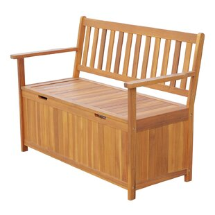 Exceptionnel Silvia Outdoor Wooden Storage Bench