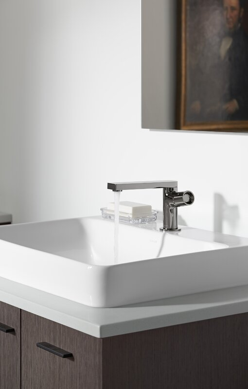 K 2660 1 0 1 47 1 7 Kohler Vox Rectangular Vessel Bathroom Sink With Overflow Amp Reviews Wayfair