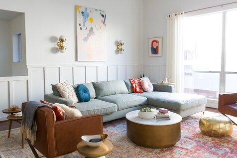 Living Room Design Furniture. sugarandcloth Modern  Contemporary Living Room Design Ideas Wayfair
