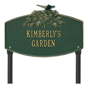 9d6ce9f3 Garden Signs & Plaques You'll Love in 2019 | Wayfair