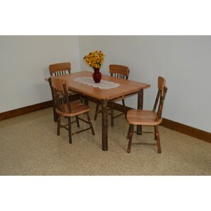 Hickory 5 Piece Dining Set by A&L Furniture