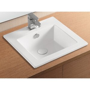 Ceramica II Self Rimming Bathroom Sink