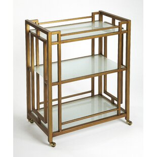 Collinsworth Metal Bar Cart