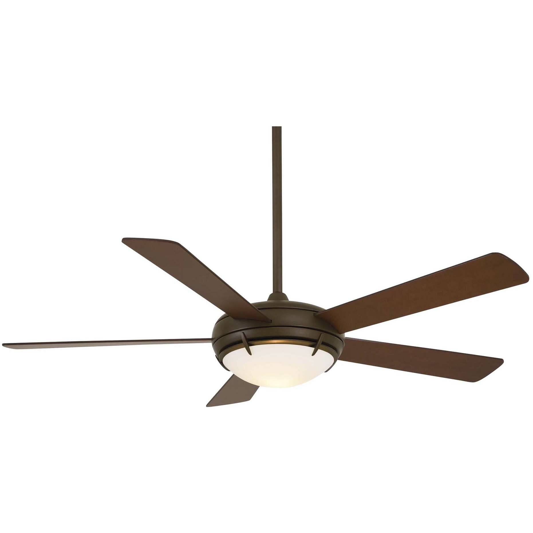 Minka Aire 54 Como 5 Blade Contemporary Ceiling Fan With Remote Wiring A Light Separately From 2 Locations In The Same Reviews Wayfair
