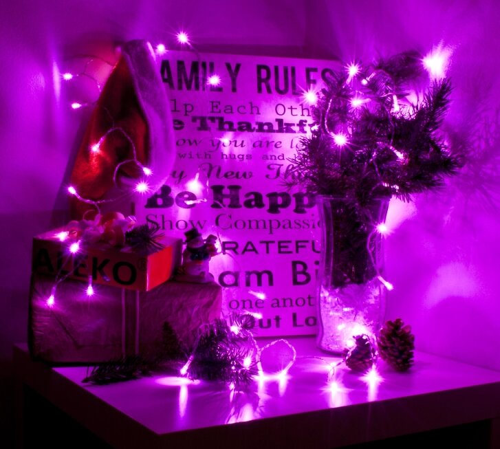 Aleko decorative battery operated 40 light string lighting reviews decorative battery operated 40 light string lighting aloadofball Images