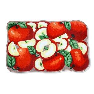 apple kitchen rugs wayfair