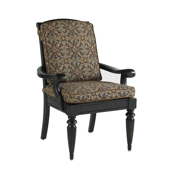 Tommy bahama outdoor kingstown sedona patio dining chair for Bahama towel chaise cover