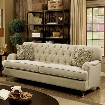 Canora Grey Dalston Tufted Sofa Wayfair