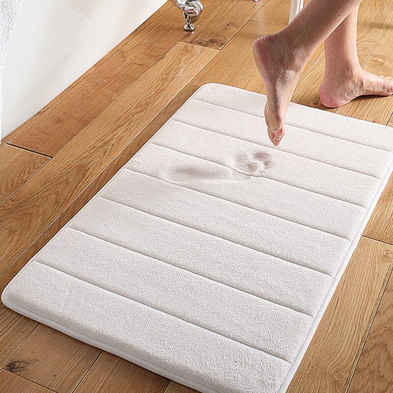 Wickline Microplush Memory Foam Bath Mat
