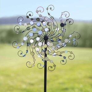 Mirror Disc Octopus Wind Spinner
