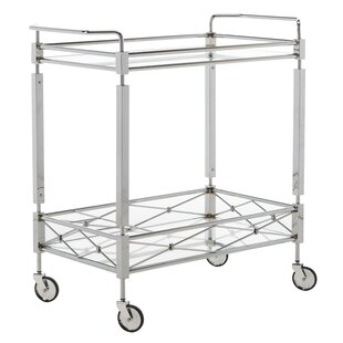 Baynham 2 Tier Rectangle Bar Cart