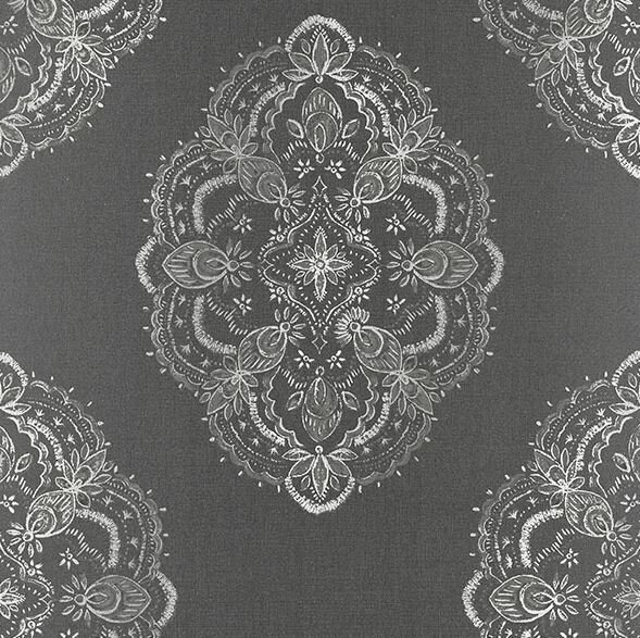 Brewster Home Fashions Alhambra Mirador Global Medallion 33 x