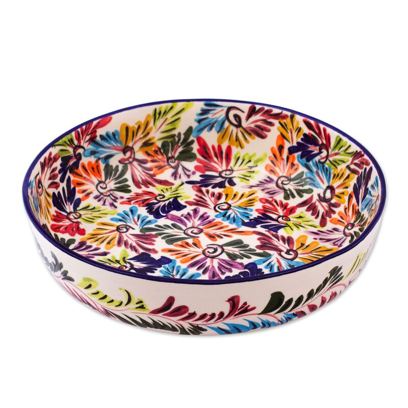 Large Ceramic Fruit Bowls | Wayfair
